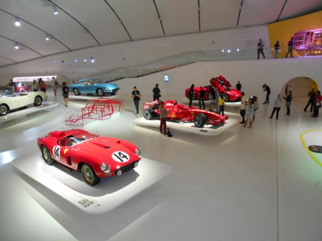 Modéna Musée Enzo Ferrari 24 09 2016 (5)