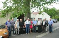 """2014 Visite garage """"Autos Folies"""" de Chappes le 18 06"""