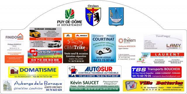 Plaque sponsors